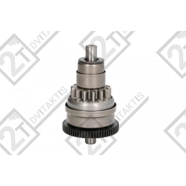 Starter motor pinion gear, GY6/QQ/4T